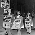 Pickets Protest In Front Of Baltimores by Everett