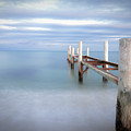 Pier In Pampelonne Beach by Dhmig Photography