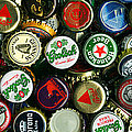 Pile Of Beer Bottle Caps . 3 To 1 Proportion by Wingsdomain Art and Photography