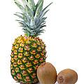 Pineapple And Kiwis by Carlos Caetano