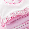 Pink Baby Clothes For Infant Girl by Elena Elisseeva