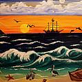 Pirate's Cove by Adele Moscaritolo