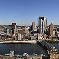 Pittsburgh Panoramic by Teresa Mucha