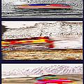 Planes Trains Automobiles Triptych by Steve Ohlsen