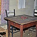 Playing Checkers by Susan Leggett