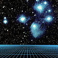 Pleiades In Taurus by Science Source