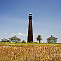 Point Bolivar Lighthouse Print by Scott Pellegrin