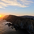 Point Reyes Sunset Print by About Light  Images