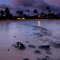 Poipu Evening Storm by Mike  Dawson