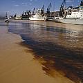 Polluted Water, Rio De La Plata by Bernard Wolff