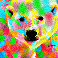 Polychromatic Polar Bear by Anthony Caruso