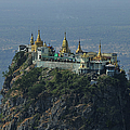 Popa Mountain Top Temple by Huang Xin