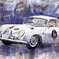 Porsche 356 Coupe Print by Yuriy  Shevchuk