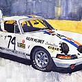 Porsche 911 Sebring 1970 Ralf Meaney Print by Yuriy  Shevchuk
