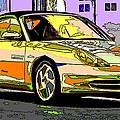 Porsche Carrera Study 4 by Samuel Sheats