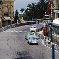 Porsches At Monte Carlo Casino Square by John Bowers