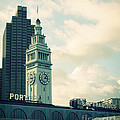 Port of San Francisco Print by Linda Woods