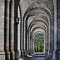 Portico From The Valley Of The Fallen by Mary Machare