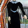 Portrait of a Woman Print by Henri Rousseau