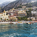 Positano Seaside View by George Oze