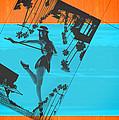 Post Card From La by Naxart Studio