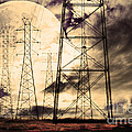 Power Grid by Wingsdomain Art and Photography