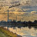 Power Plant Print by Gert Lavsen