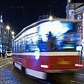 Prague Tram by Stelios Kleanthous