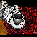 Prayer Over Coffee - Robbie The Squirrel