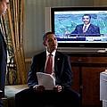 President Barack Obama In Front by Everett