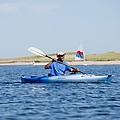 President Barack Obama Kayaks While by Everett
