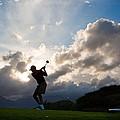 President Barack Obama Plays Golf by Everett