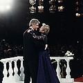 President Bill Clinton And Hillary by Everett