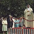 President Carter And Prince Fahd Bin by Everett