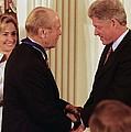 President Clinton Awards Former by Everett