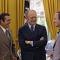 President Ford With Perennial by Everett