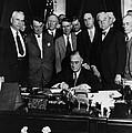 President Franklin D. Roosevelt Seated by Everett