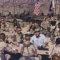 President George Bush Having by Everett