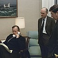 President George Bush In A Telephone by Everett