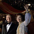 President Jimmy Carter And First Lady by Everett