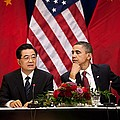 President Obama And Chinese President by Everett