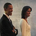 President Obama And First Lady by David Dehner