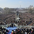 President Obama Delivers His Inaugural by Everett