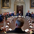 President Obama Meets With Combat by Everett