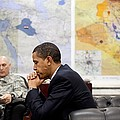 President Obama Meets With Gen. Raymond by Everett
