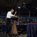 President Obama Promotes Health Care by Everett