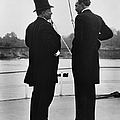 President Roosevelt And Gifford Pinchot by Photo Researchers