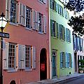 Pretty Lane in Charleston Print by Susanne Van Hulst
