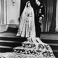 Princess Elizabeth And Prince Philip by Everett