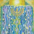 Prophetic Message Sketch Painting 26 Elohim Elohim Latter Rain